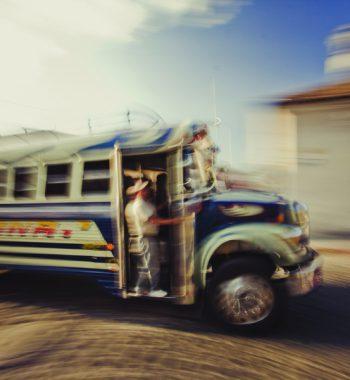Bus driver Guatemala
