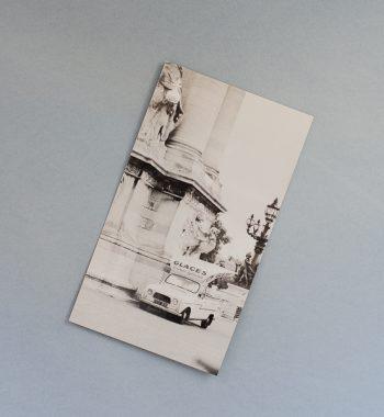 Postcard Glaces