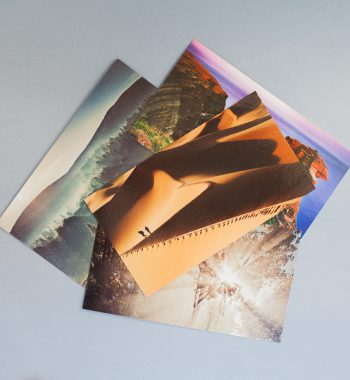 Postcards Landscapes Whole Series