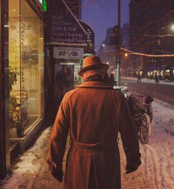 Gentleman in Winter