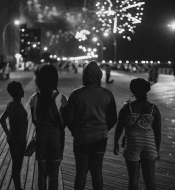 Kids in Coney Island