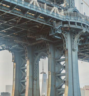Manhattan Bridge and WTC