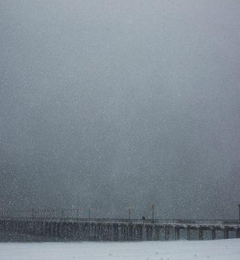 Snowstrom in Coney Island (II)