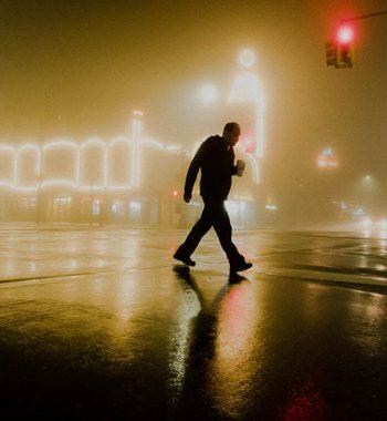 Coney Island in fog II